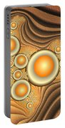 Fractal Eggs In The Depth Portable Battery Charger