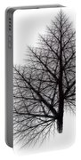 Fractal Essence Of A Tree Portable Battery Charger