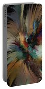 Fractal Feathers Portable Battery Charger