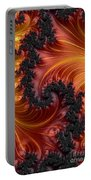 Fractal Heat - A Fractal Abstract Portable Battery Charger