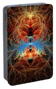 Fractal - Insect - Black Widow Portable Battery Charger