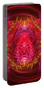 Fractal - Insect - Jeweled Scarab Portable Battery Charger