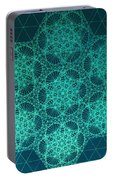 Fractal Interference Portable Battery Charger
