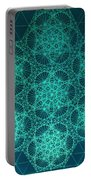 Fractal Interference Portable Battery Charger by Jason Padgett