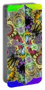 Fractal Lotus Zodiac Portable Battery Charger