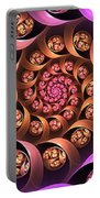 Fractal Multicolored Depth Portable Battery Charger