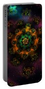 Fractal Peyote Portable Battery Charger