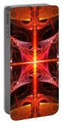 Fractal - Science - Cold Fusion Portable Battery Charger by Mike Savad