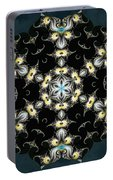 Fractal Seahorses Portable Battery Charger