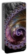 Fractal Spiral 2 - A Fractal Abstract Portable Battery Charger