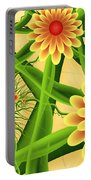 Fractal Summer Pleasures 2 Portable Battery Charger