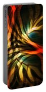 Fractal Swirl Portable Battery Charger