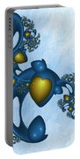 Fractal Tears Of Joy 2 Portable Battery Charger