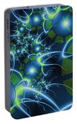 Fractal Time Travel Portable Battery Charger