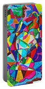 Fractured Kaleidoscope Portable Battery Charger