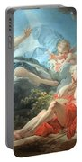 Fragonard's Diana And Endymion Portable Battery Charger