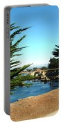 Framed By Cypress Trees Portable Battery Charger