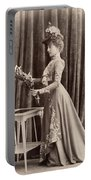 France Woman, C1895 Portable Battery Charger