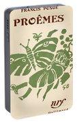 Francis Ponge: Proemes Portable Battery Charger