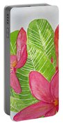 Frangipani Tree Portable Battery Charger
