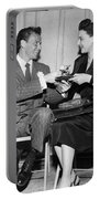 Frank Sinatra Signs For Fan Portable Battery Charger