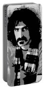 Frank Zappa - Chalk And Charcoal 2 Portable Battery Charger by Joann Vitali