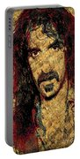 Frank Zappa Portable Battery Charger by Gary Keesler