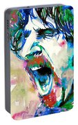 Frank Zappa  Portrait.4 Portable Battery Charger