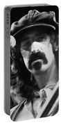 Frank Zappa - Watercolor Portable Battery Charger by Joann Vitali