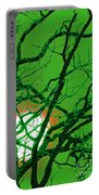 Frankenstein Moon Portable Battery Charger by First Star Art