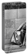 Franklin Delano Roosevelt Memorial Portable Battery Charger by Allen Beatty