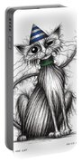 Fred The Cat Portable Battery Charger
