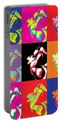 Freddie Mercury Pop Art Portable Battery Charger
