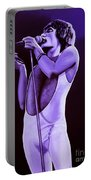 Freddie Mercury Of Queen Portable Battery Charger