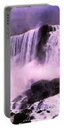Free Falls Oil Effect Image Portable Battery Charger
