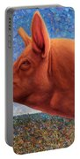 Free Range Pig Portable Battery Charger