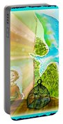 Free Spirit Dreamscape - Within Border Portable Battery Charger