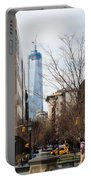 Freedom Tower From Washington Square Portable Battery Charger