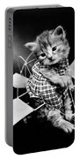 Frees Kittens, C1914 Portable Battery Charger