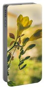 Freesia Portable Battery Charger by Marco Oliveira