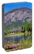 Freestone Inn Lakeside View Portable Battery Charger