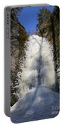 Freezing Waterfall Portable Battery Charger