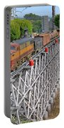 Freight Train Bridge Crossing Portable Battery Charger