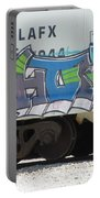 Freight Train Graffiti 5 Portable Battery Charger
