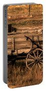 Freight Wagon Portable Battery Charger by Robert Bales