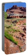 Sulphur Creek Flows Through Capitol Reef National Park Portable Battery Charger