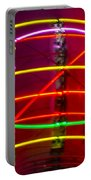 Fremont Street Neon Sphere Portable Battery Charger