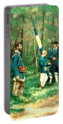 French And Indian War Portable Battery Charger