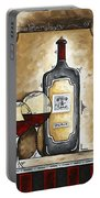 French Bordeaux Original Madart Painting Portable Battery Charger