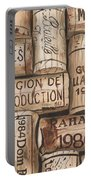 French Corks Portable Battery Charger by Debbie DeWitt